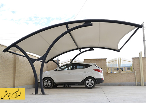 طراحی سقف پارکینگ
