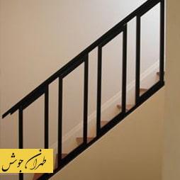 رنگ مناسب نرده راه پله فلزی