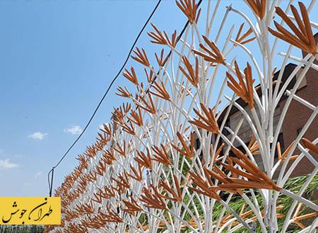 ساخت نرده حفاظ دیوار حیاط توسط جوشکار سیار