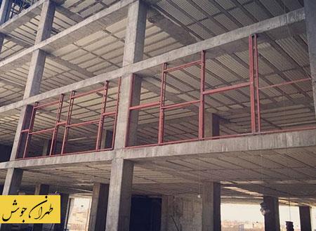 ساخت وال پست توسط جوشکار سیار تهران